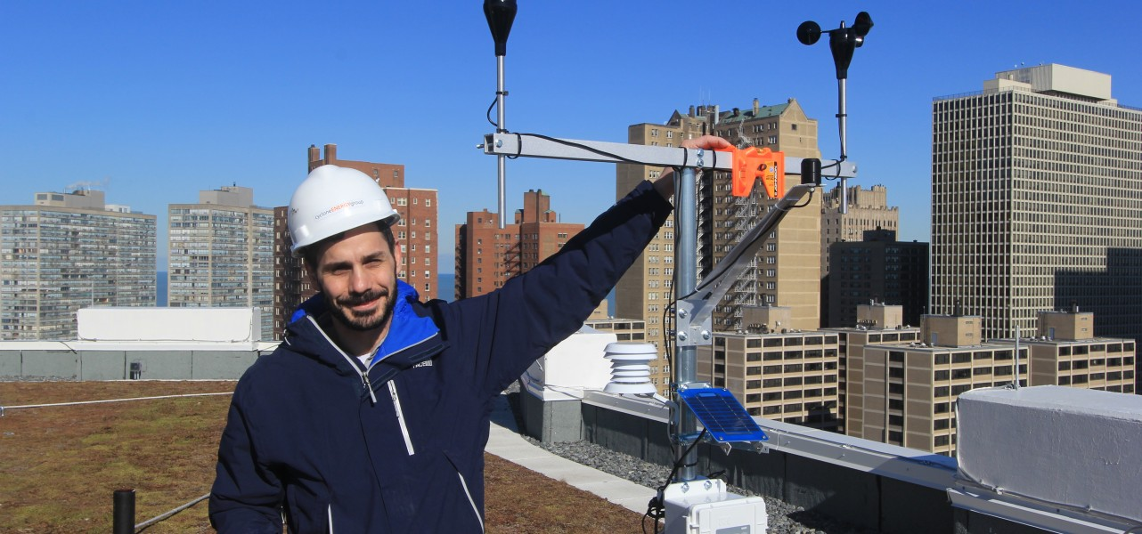 Thermal Performance of Balconies and Floor Slabs Study – Update #1 Weather Station Installation