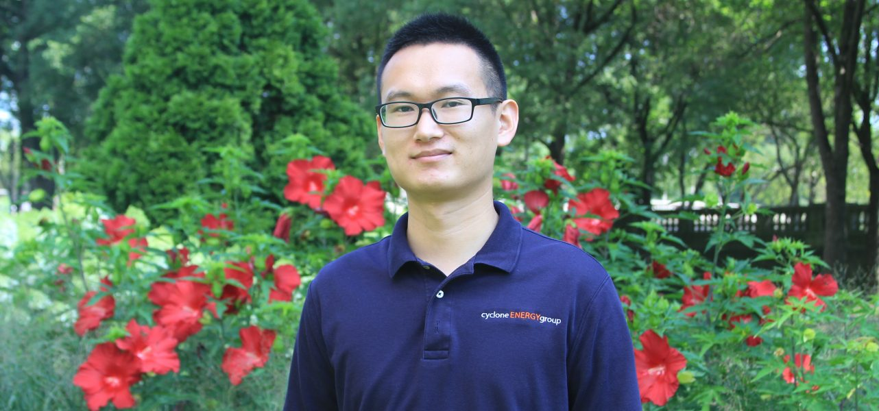 "Weijun ""Allen"" Mei named Building Analyst at Cyclone Energy Group"